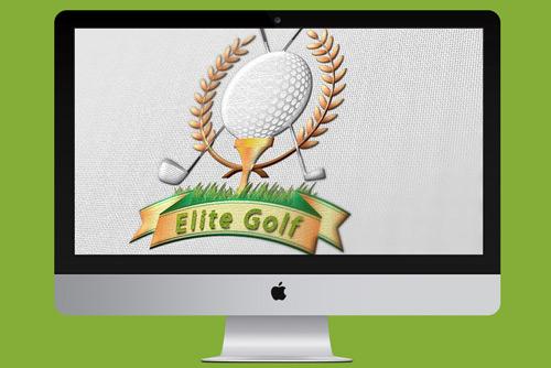 Гольф-Логотип